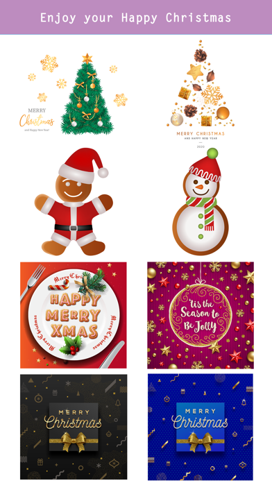 Realistic Christmas Stickers screenshot 5