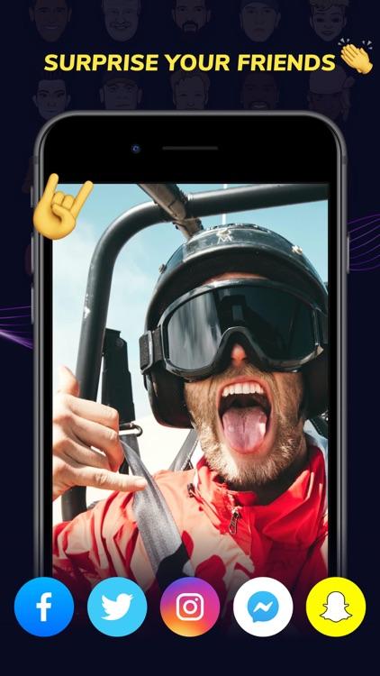 VoiceFX - Funny Voice Changer screenshot-3