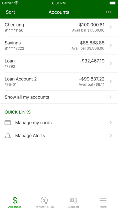 United Bank & Trust Mobile AppScreenshot of 3