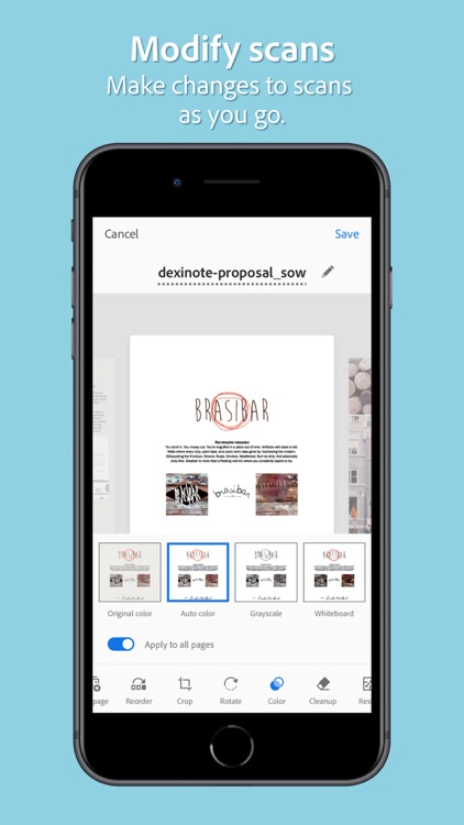 Adobe Scan: Mobile PDF Scanner screenshot-7