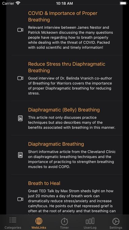 breatheX screenshot-4