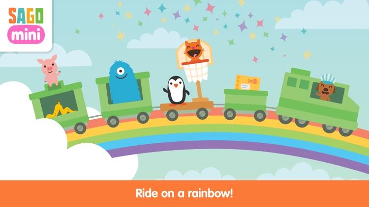 Sago Mini Train Adventure screenshot-4