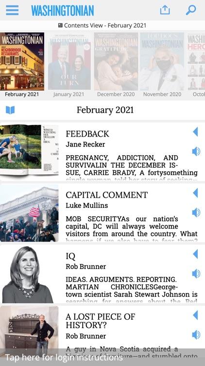 Washingtonian Magazine screenshot-4