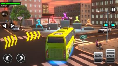 スーパーハイスクールバスドライビングシミュレーター3Dのおすすめ画像4