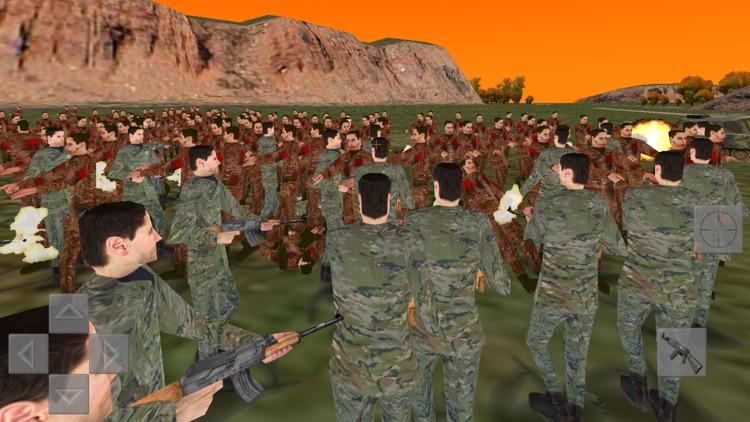 Zombie Battle 3D screenshot-0