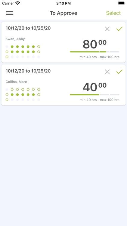OpenAir Mobile screenshot-5