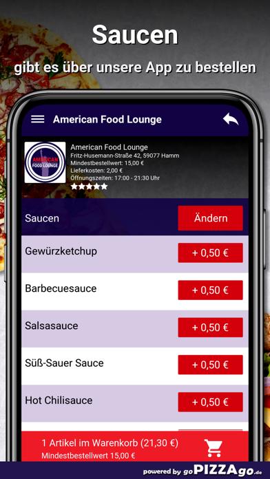 American Food Lounge Hamm screenshot 6
