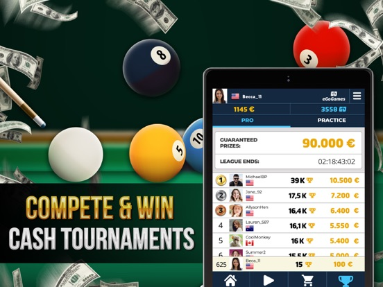 Pool: 8-Ball Cash Tournaments screenshot 8