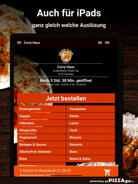 Curry Haus Dresden Pizza screenshot 7