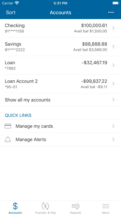 United Security Bank AppScreenshot of 3