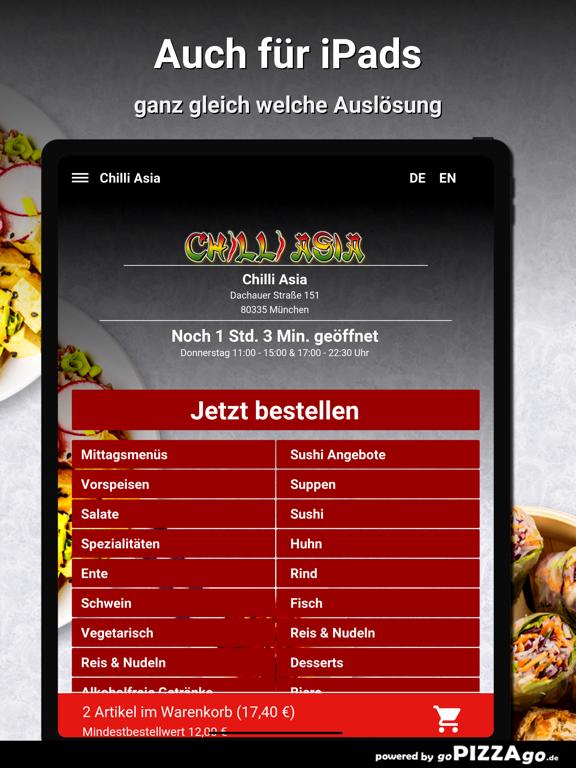 Chilli Asia München screenshot 7