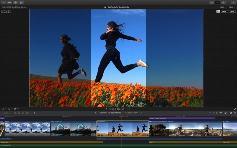 Final Cut Pro Screenshot
