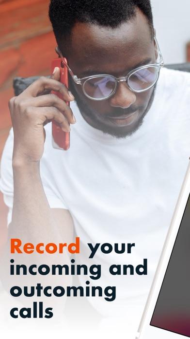 自動通話録音とログのスクリーンショット1