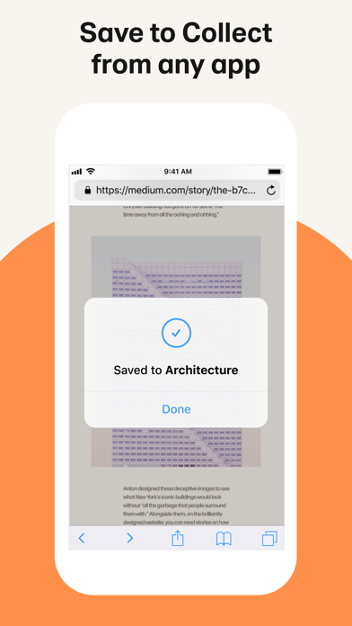 Collect by WeTransfer Screenshot