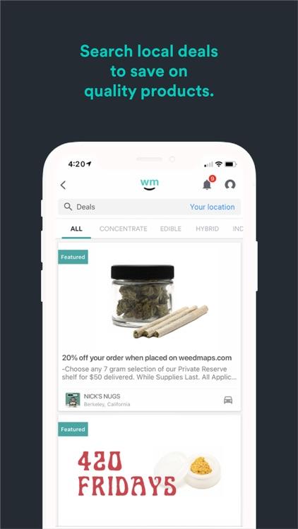 Weedmaps: Cannabis, Weed & CBD screenshot-3