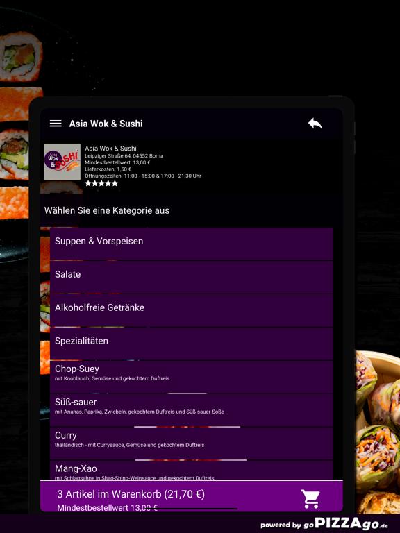 Asia Wok & Sushi Borna screenshot 8