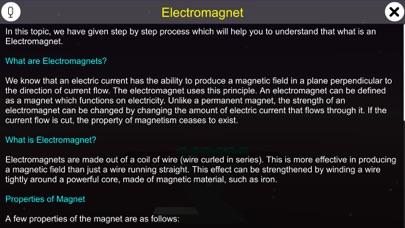 Electromagnet screenshot 1