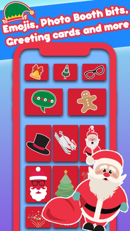 All Holiday Emoji Stickers screenshot-5