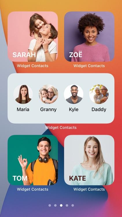 Widget Contacts