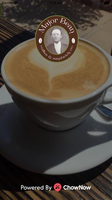 Major Bean Coffee & SandwichScreenshot of 1