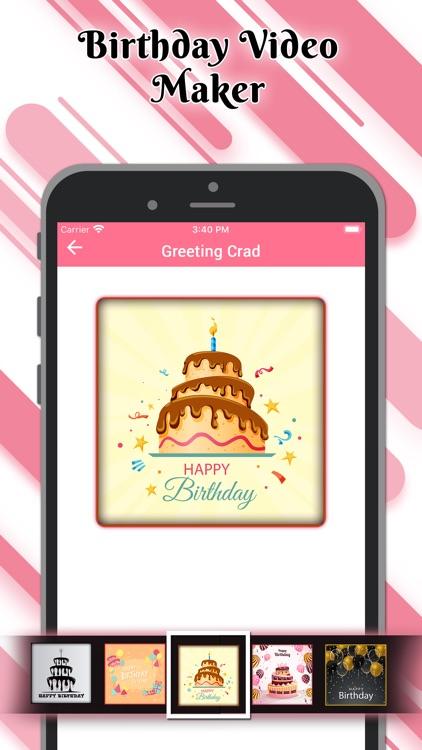 Birthday Video Maker Wid Song screenshot-6