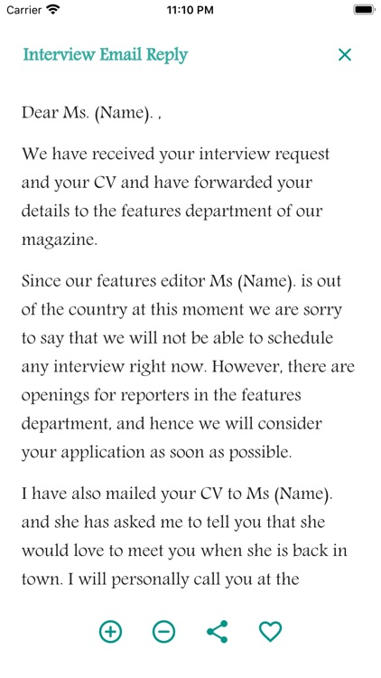 Email Writing Templates screenshot-5