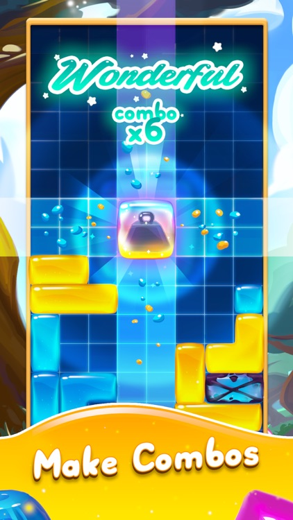 Jelly Slide Sweet Drop Puzzle