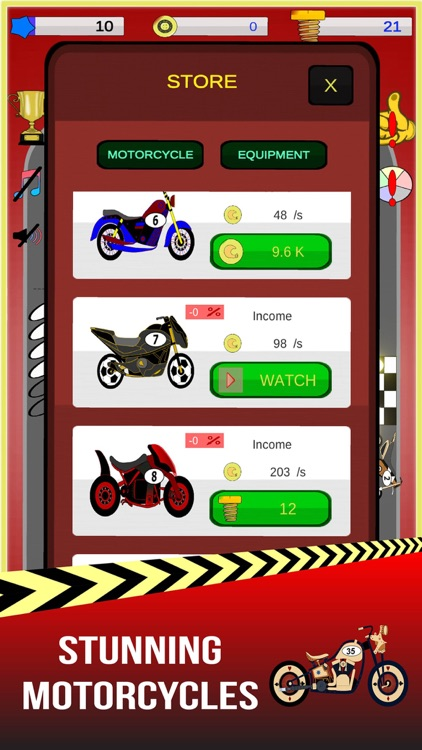 Merge Motos: Bike idle-games screenshot-5