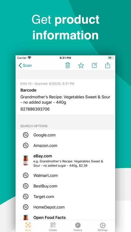 Barcode & QR Code Scanner screenshot-3