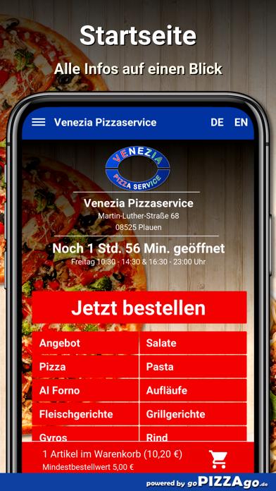 Venezia Pizzaservice Plauen screenshot 2
