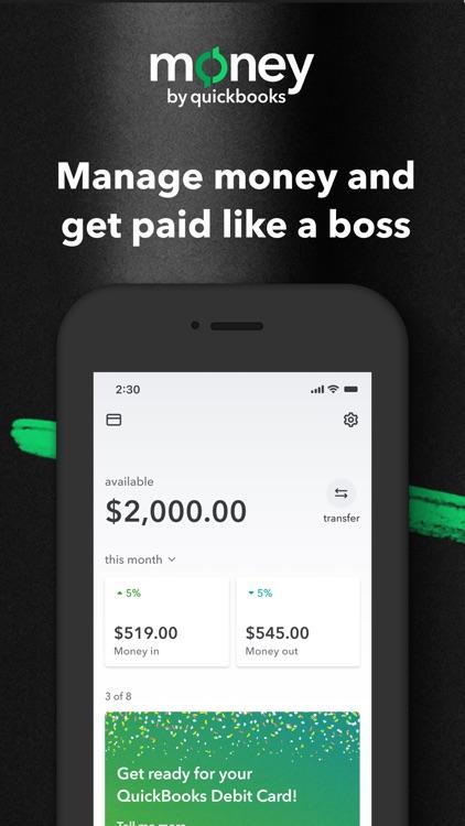 Money by QuickBooks screenshot-0