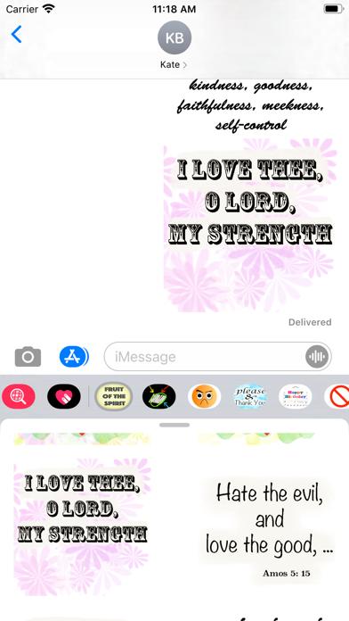 fruit of the spirit stickers screenshot 1