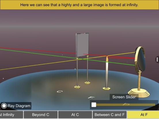 Concave mirror properties screenshot 18