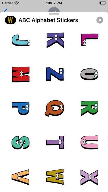 ABC Alphabet Stickers