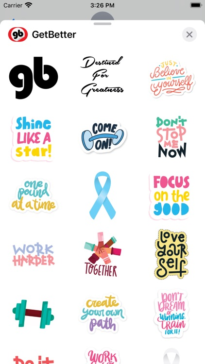 GetBetter Stickers