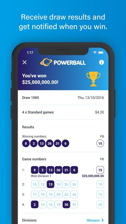Oz.Lotterywest screenshot-3