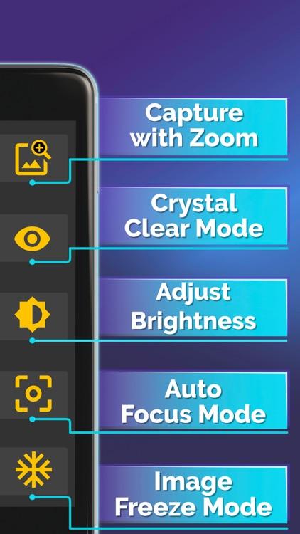 Magnifying Glass Pro (Torch) screenshot-4