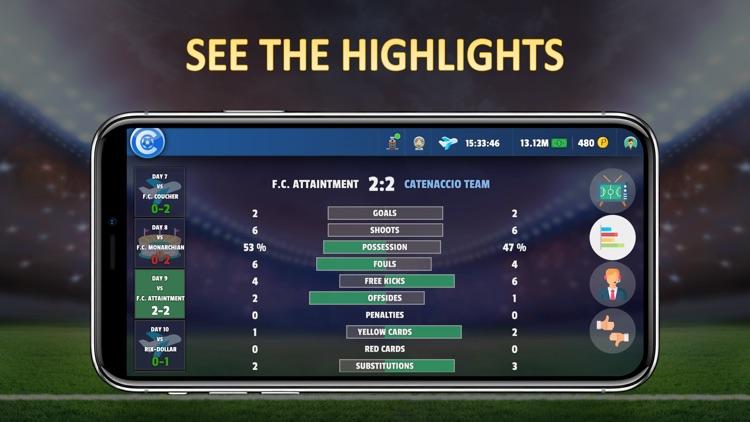 Catenaccio Football Manager screenshot-3