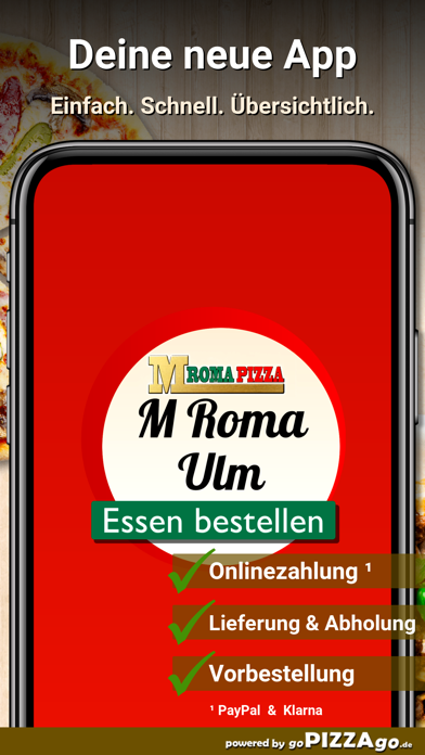 M Roma Pizza Ulm screenshot 1