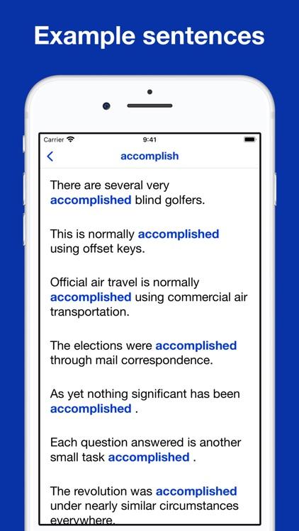 IELTS® wordlist flashcards screenshot-5