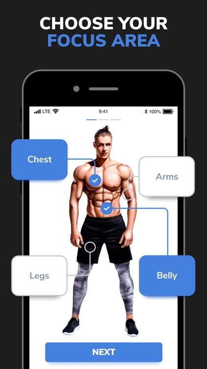 Workouts For Men: Gym & Home screenshot-3