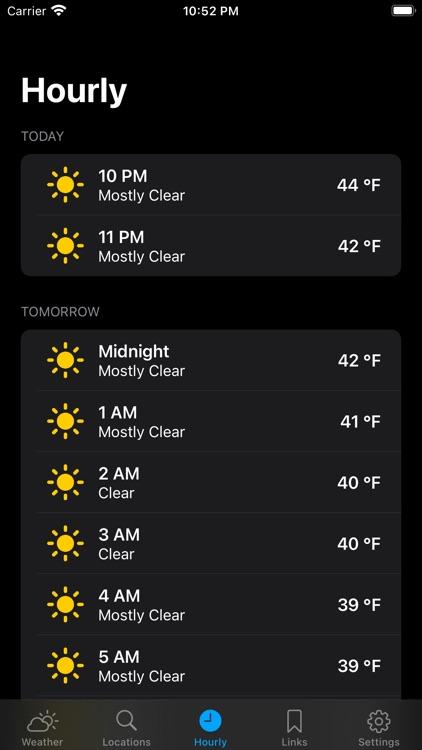 Simple NOAA Weather screenshot-3