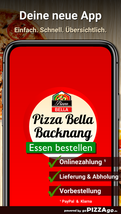 Pizza Bella Backnang screenshot 1