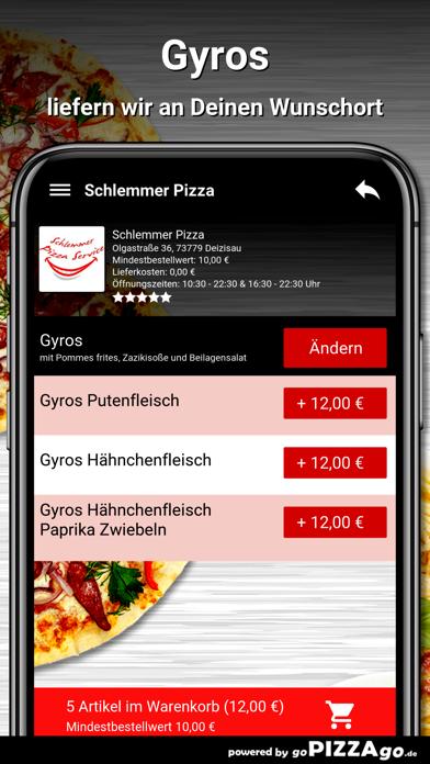 Schlemmer Pizza Deizisau screenshot 6