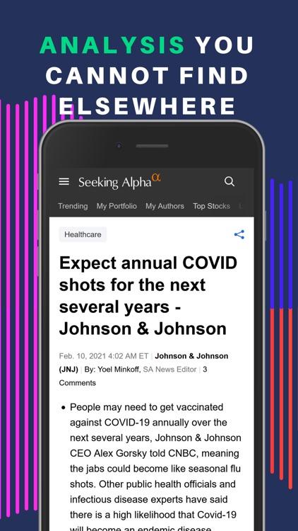 Seeking Alpha: News & Analysis screenshot-4