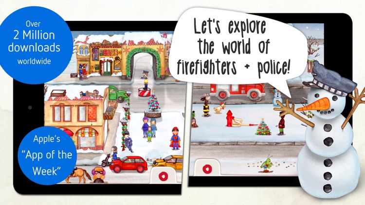 Tiny Firefighters: Kids' App screenshot-0