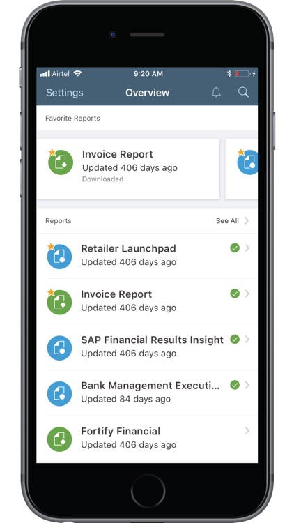 SAP BusinessObjects Mobile