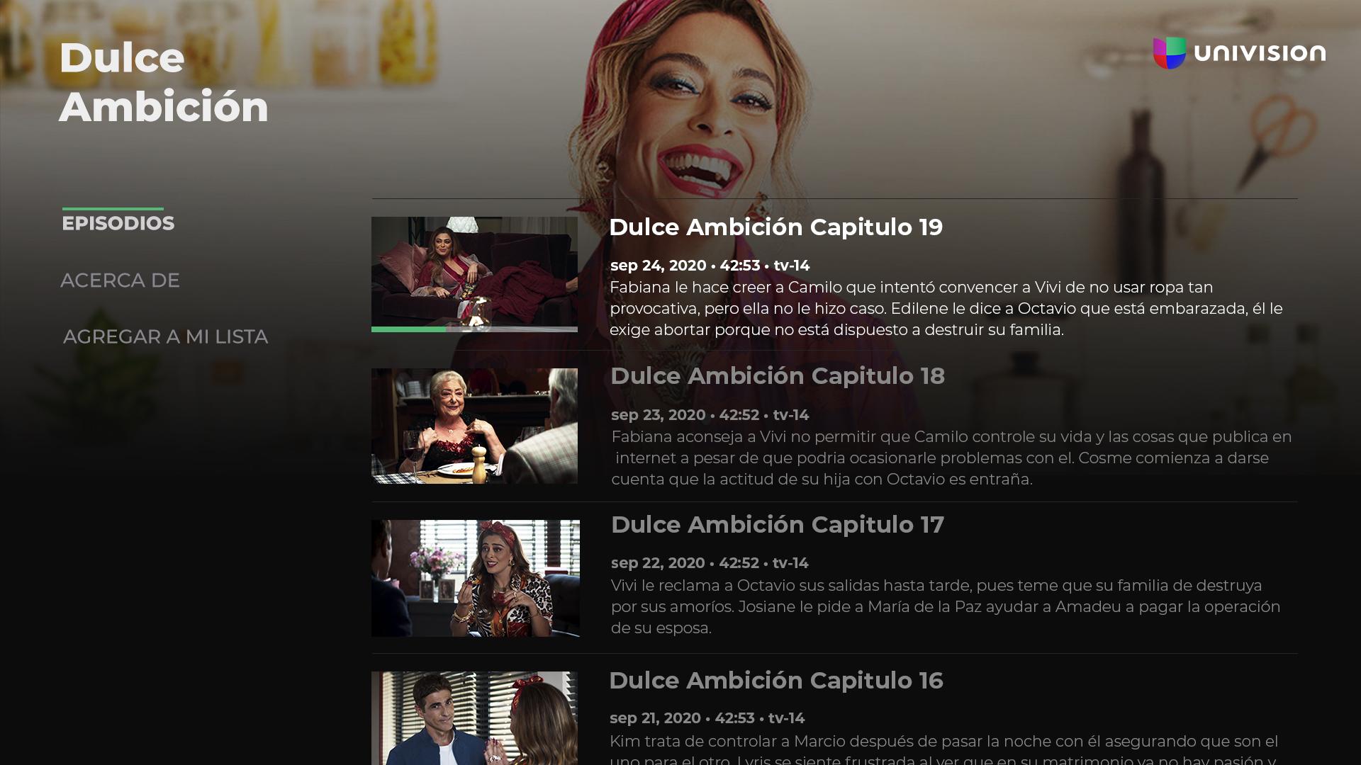 Univision App screenshot 13