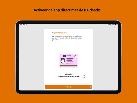 DigiD iPad app afbeelding 4