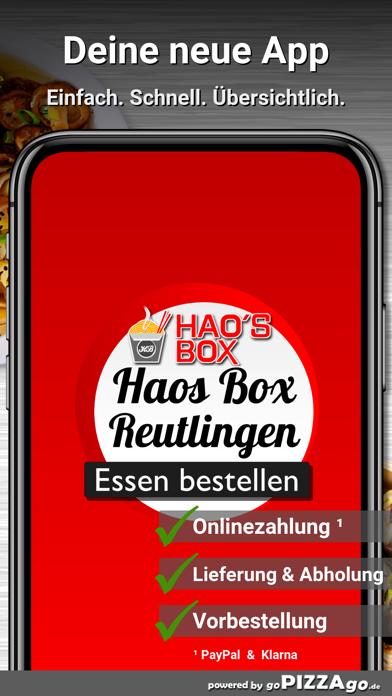 Haos Box Reutlingen Hohbuch screenshot 1
